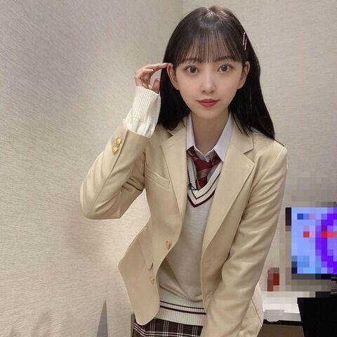 【乃木坂46】制服姿の堀未央奈、強すぎ!!!!!