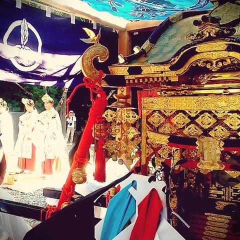 【須崎の神事】9月23日(金)午後1時から/神様の結婚式・鳴無神社の『ちりへっぽ』