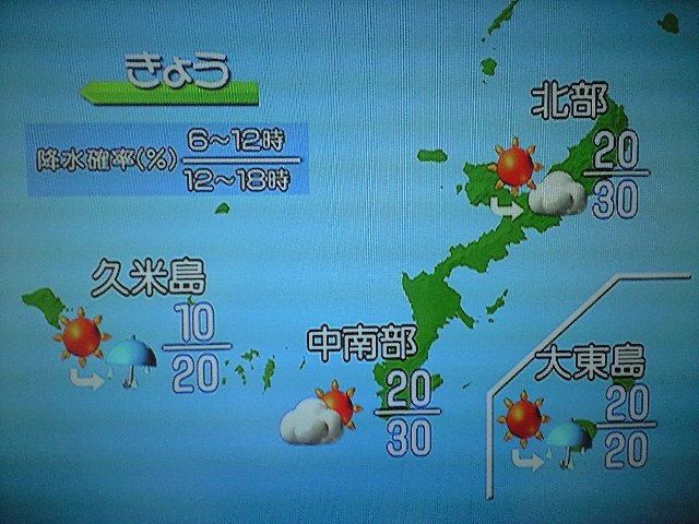 沖縄 天気 過去