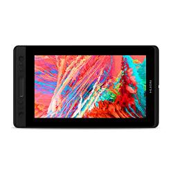 HUION 液タブKamvas Pro13 傾き検知機能付き 筆圧8192充電不要ペン アンチグレアガラス搭載 3IN1ケーブル Adobe RGB92%色域 13.3インチフルHD液晶タブレットGT-133