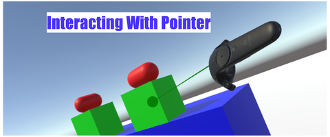 VRTK_InteractingWithPointer