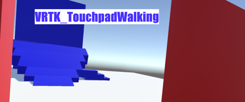 VRTK_TouchpadWalking