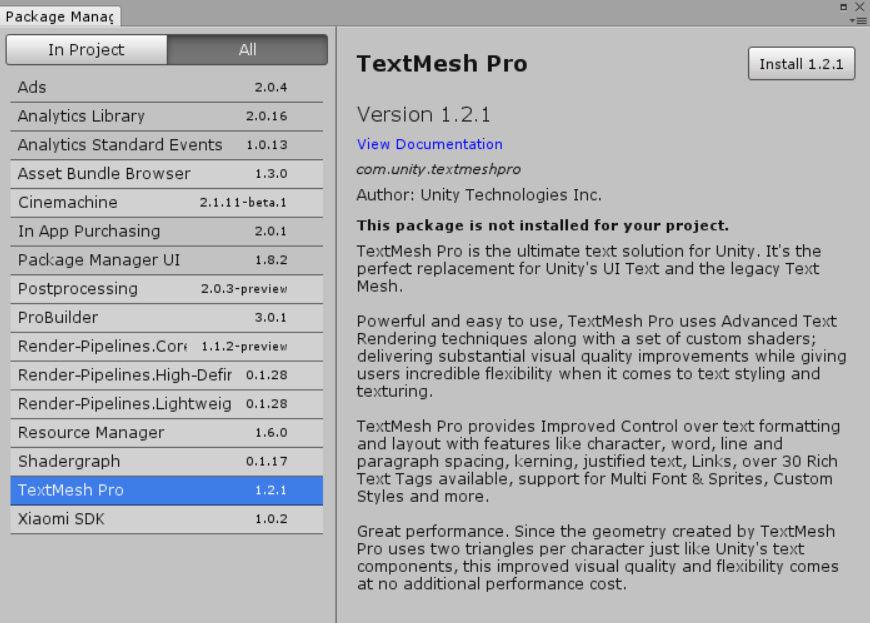 TextMesh Pro でタイトル文字列を作る(前編) : ねぎたまらぼ