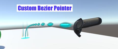 VRTK_CustomBezierPointer
