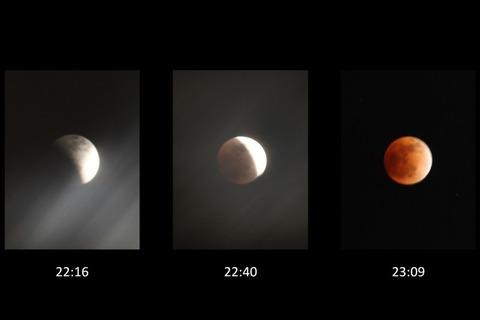 皆既月食(2011年12月10日)