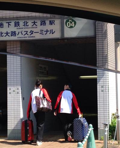 メイさん東京へ 全日本新体操ユースチャンピオンシップ