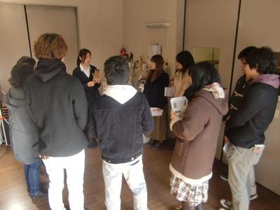 3-140111文教大学さんの京仏具工房見学会