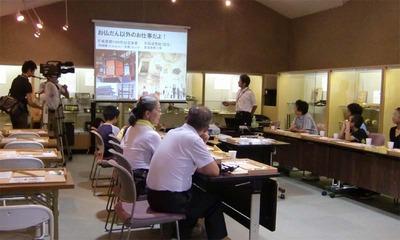 1-150806福井教区若狭組少年連盟様 仏壇工房体験