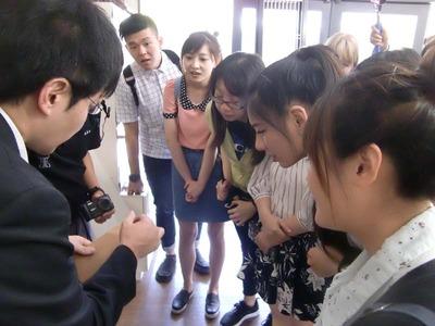 6-台湾 文藻外国語大学から小堀京仏具工房に