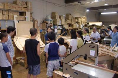 2-150806福井教区若狭組少年連盟様 仏壇工房体験