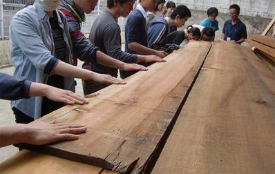 3-160609京都伝統工芸大学校のみなさんの工房見学