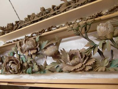 9-伝統大学校から工房見学 彫刻