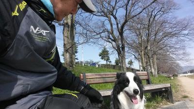 2-愛孫愛犬の激励