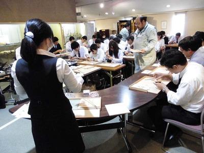 9-信用保証協会様 京仏具工房見学