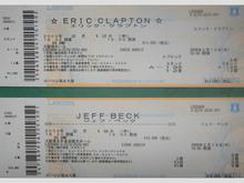 クラプトンとジェフ・ ベック、チケット購入