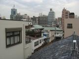 061116京仏具小堀東京店屋上からの景色