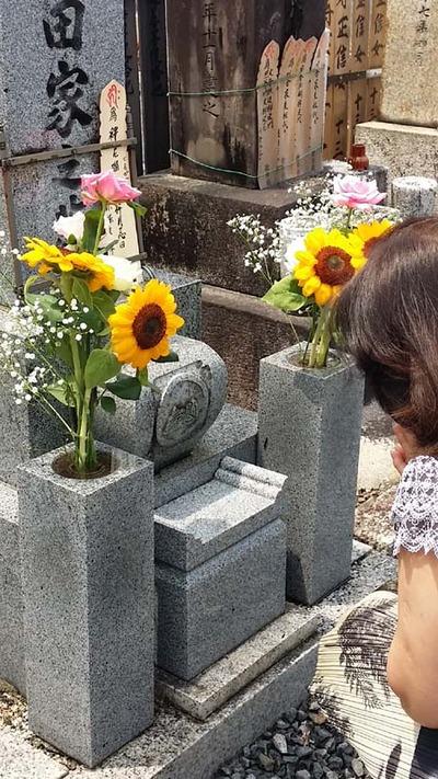 2-お墓参りと散髪