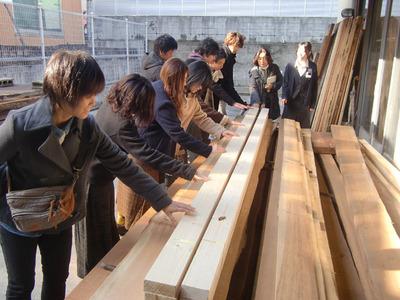 2-140111文教大学さんの京仏具工房見学会