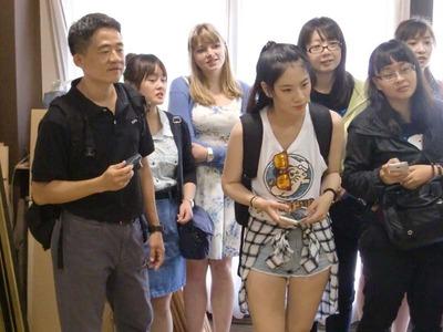8-台湾 文藻外国語大学から小堀京仏具工房に