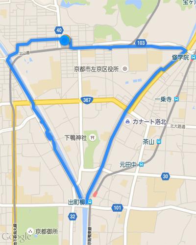 11-150712 賀茂川〜高野川ウォーク ゴンタ君の出会い