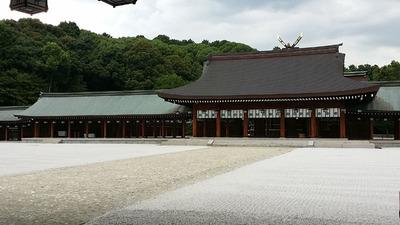 5-橿原神宮と新体操