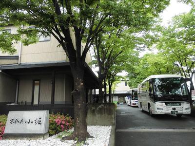11-京都市立上高野小学校の京仏具工房見学