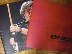 ジェフ・ベック、エリック・クラプトンのコンサート・プログラム