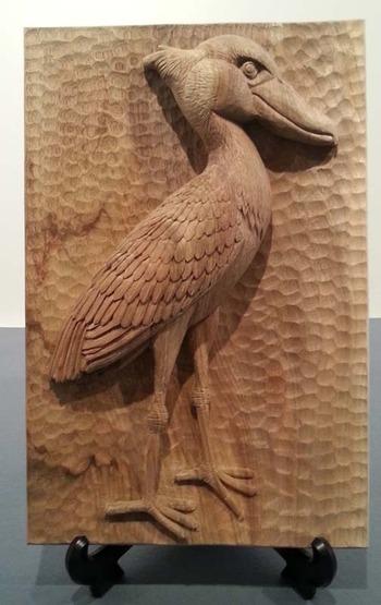3-卒業制作展 木彫刻