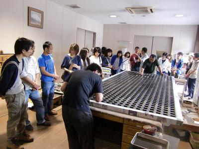 3-伝統大学校から工房見学