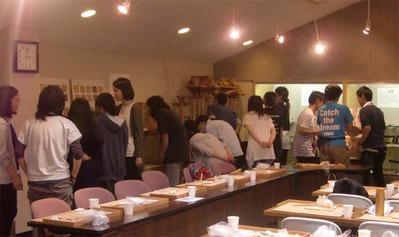 9-160609京都伝統工芸大学校のみなさんの工房見学