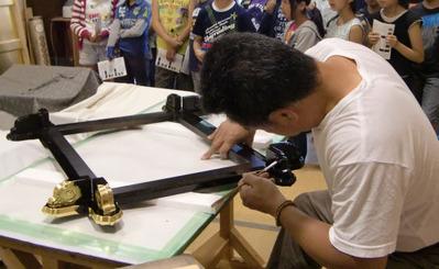 5-京都市立上高野小学校の京仏具工房見学