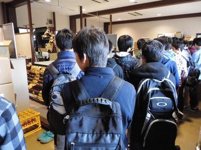 3-141110東京から中学生の工房見学