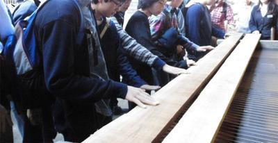 1-141110東京から中学生の工房見学