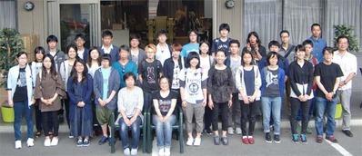 2-160609京都伝統工芸大学校のみなさんの工房見学
