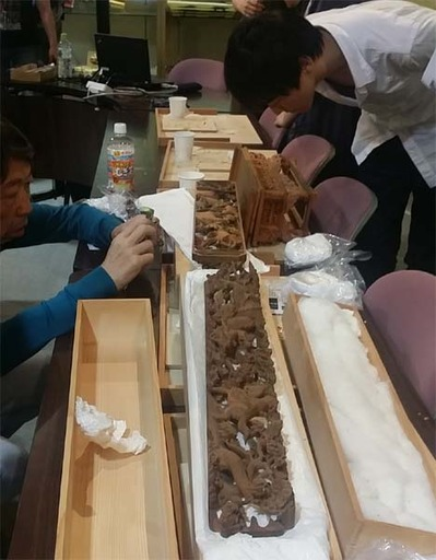 10-160609京都伝統工芸大学校のみなさんの工房見学