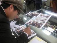 矢野ひろしさんにサイン