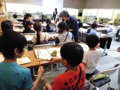 6-夏休み児童工房体験