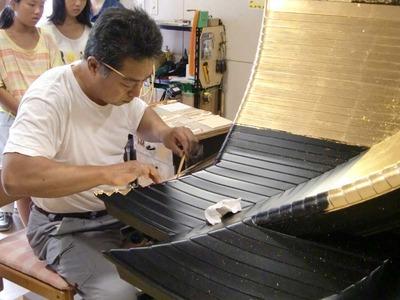 4-150806福井教区若狭組少年連盟様 仏壇工房体験