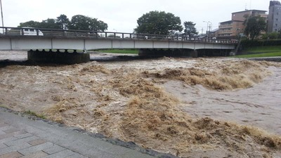 1-130916台風18号後の賀茂川