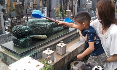 110619お墓参り 涅槃像