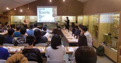 1-160609京都伝統工芸大学校のみなさんの工房見学