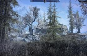 廃屋と化した小屋