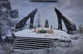 大公の石碑