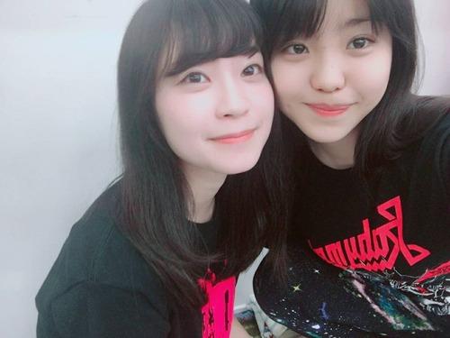 佐藤日向さんベビTツイート+RIOTBABY:KAE(かえ)さんベビメタ観戦ツイート