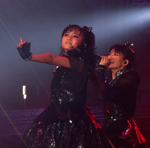 ESP Official Blog「BABYMETAL at 広島グリーンアリーナ」