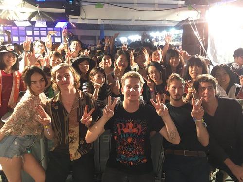 CircaWaves:InterFMでもベビT+サマソニ大阪公式:ベビメタ騎馬戦モッシュ動画