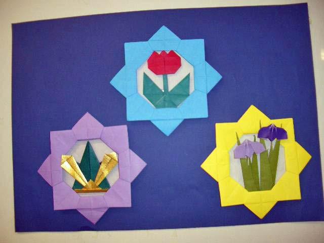すべての折り紙 折り紙 桜 : ... の落書き帳 : 5月の折り紙作品
