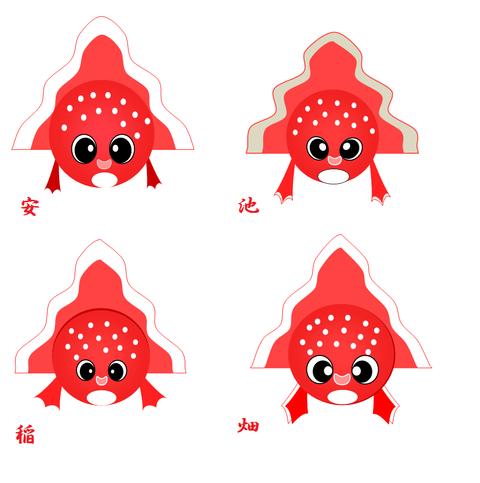 ねぶた 金魚