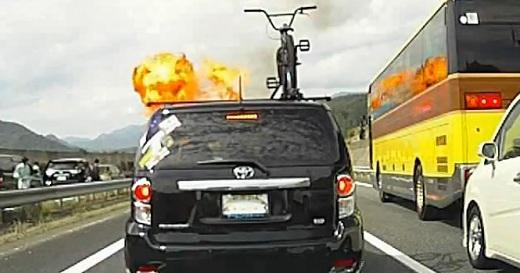 プロパンガス爆発