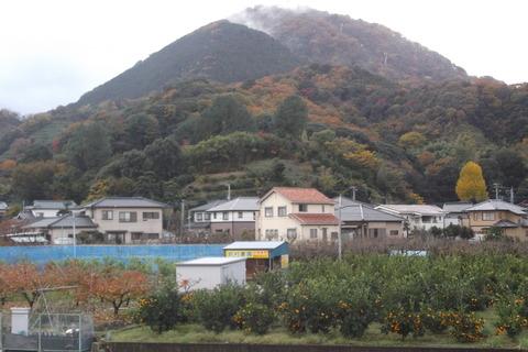 葛城山と鈴村農園